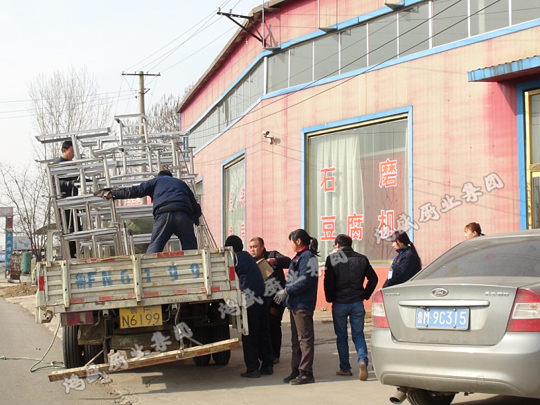 烟台【不锈钢六人连体乐天堂手机版客户端】装车发货-客户来公司订购