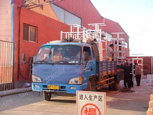 我公司发往【北京燕郊】的50套不锈钢连体乐天堂手机版客户端发货